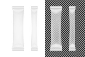 Transparent disposable packaging