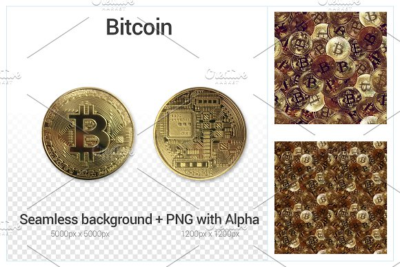 Bitcoin Front And Back PNG