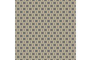 Seamless Vector Pattern in Arabian Style