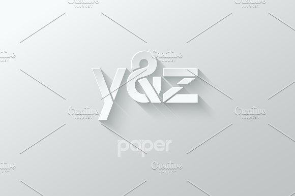 Letter Y Z Logo Alphabet Icon