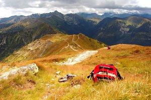 Tatra Mountains stormy landscape