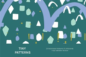 Tiny Patterns | Artboards + Patterns