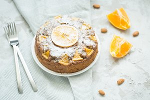 orange pie to tea