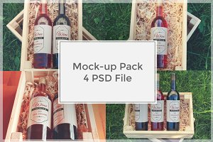 Wine Mock-up Pack#1