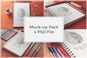 Sketch Mock-up Pack#5