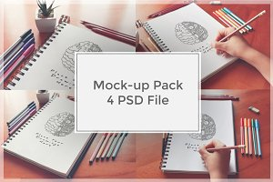 Sketch Mock-up Pack#4