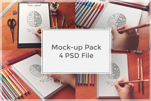 Sketch Mock-up Pack#3