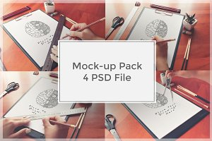 Sketch Mock-up Pack#2