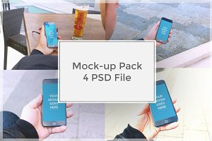 iPhone Mock-up Pack#1