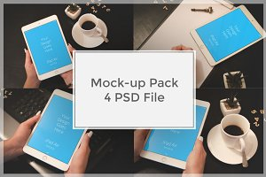iPad Mock-up Pack#8