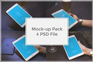 iPad Mock-up Pack#7