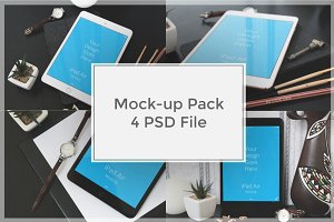iPad Mock-up Pack#5
