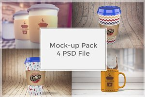 Coffee Mock-up Pack#4