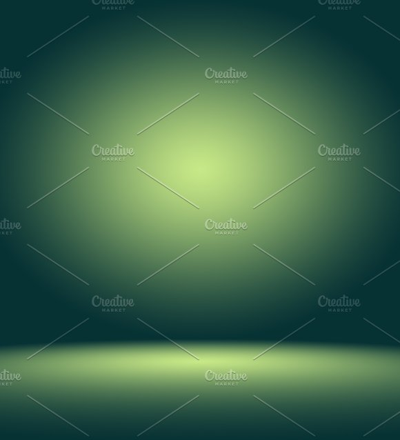 Empty Green Studio Well Use As Background Website Template Frame