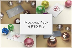 Christmas Mock-up Pack#1