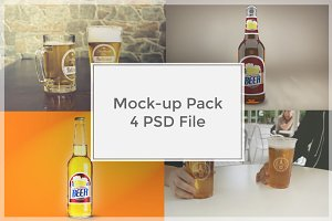 Beer Mock-up Pack#7
