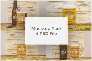 Beer Mock-up Pack#5
