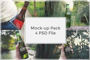 Beer Mock-up Pack#2