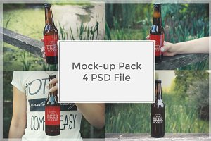 Beer Mock-up Pack#1