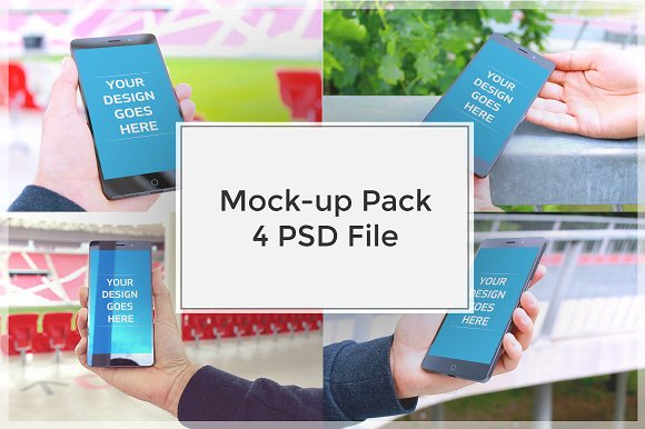 Android Mock-up Pack#1