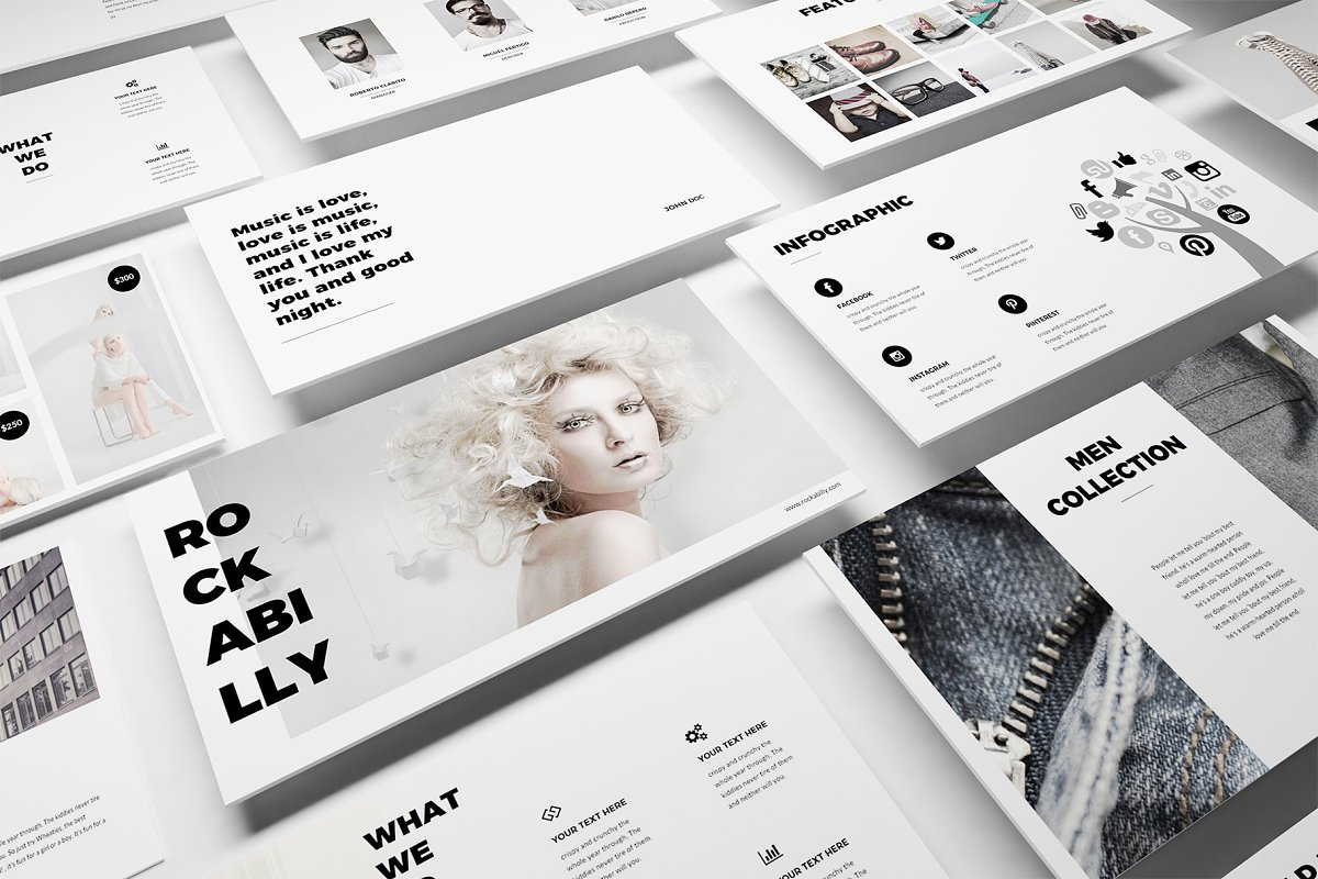 Fashion Powerpoint Template Powerpoint Templates