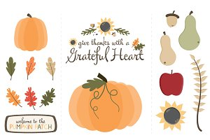 Thanksgiving Grateful Heart Graphics