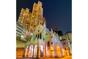 Cathedral of the Immaculate Conception in Hong Kong