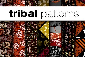 15 seamless vector patterns.