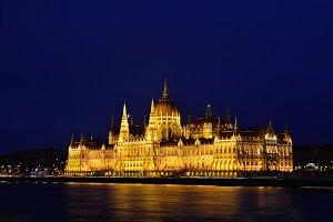 Hungarian Parliament.