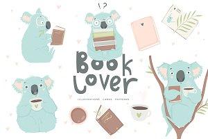 Koala - Book lover