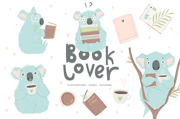 Koala Book Lover