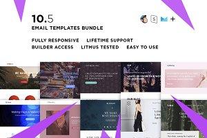 10 Email templates bundle V