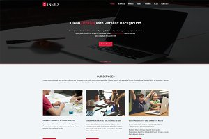 Synero - One page Multipurpose Theme