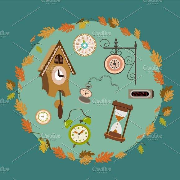 Vector set of clocks