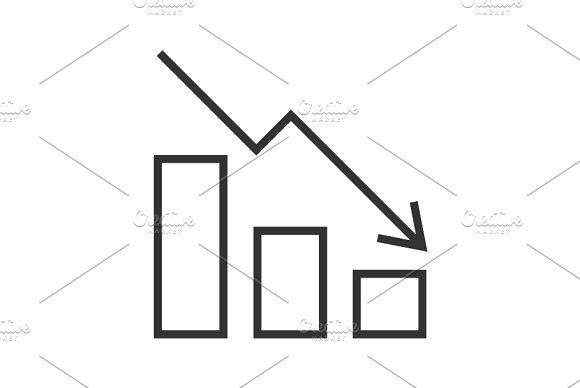 Falling Chart Icon