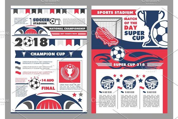 Soccer Sport Stadium Poster Of Football Sport Game