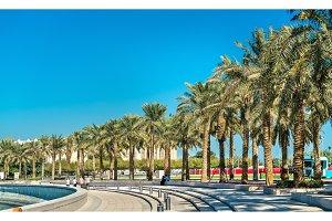 Mia Park at Museum of Islamic Art in Doha, Qatar