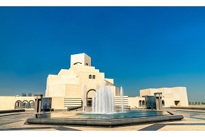 The Museum of Islamic Art in Doha, Qatar
