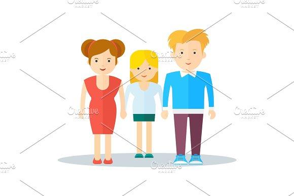 Family Happy People