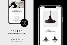 C E N T R E — E-newsletter by  in Email