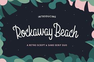 Rockaway Beach - Upright Script font