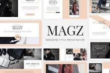 Magz - Lookbook GoogleSlide Template