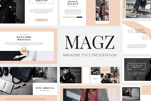 Magz - Lookbook GoogleSlide Template