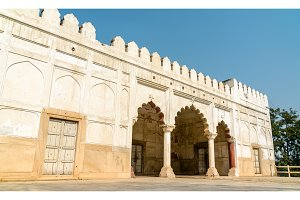 The Hammam-e-Lal Qila, the Turkish bath in the Red Fort of Delhi, India