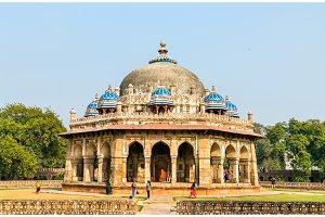 Isa Khan Tomb at the Humayun Tomb Complex in Delhi, India