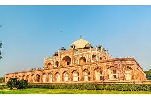 Humayun's Tomb, a UNESCO World Heritage Site in Delhi, India