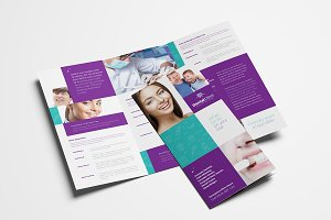 Dental Clinic Trifold Brochure