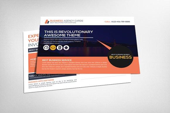 Job fair postcard template card templates creative market job fair postcard template cheaphphosting Image collections