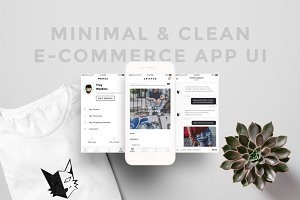 Minimal & Clean E-Commerce App