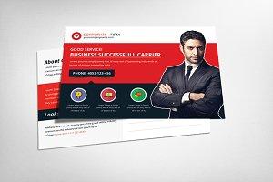Corporate Business Office Postcard